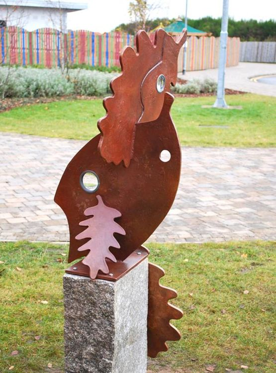 Autumn Leaves by Fanny Christie - search and link Sculpture with SculptSite.com