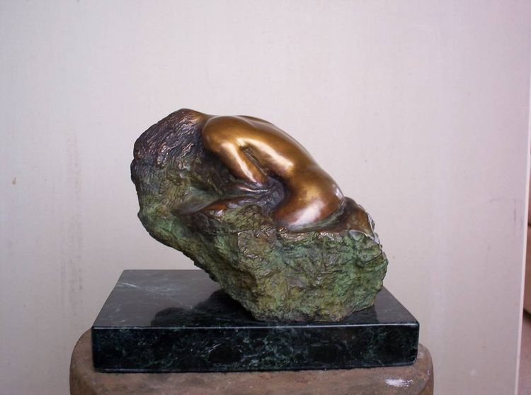La baigneuse by Marcelin Fortin - search and link Sculpture with SculptSite.com