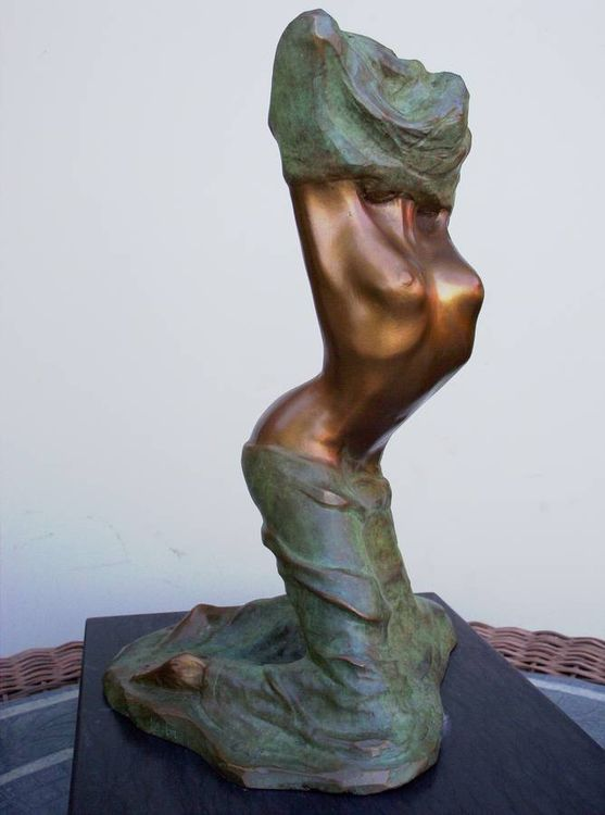 Le diable au corps by Marcelin Fortin - search and link Sculpture with SculptSite.com