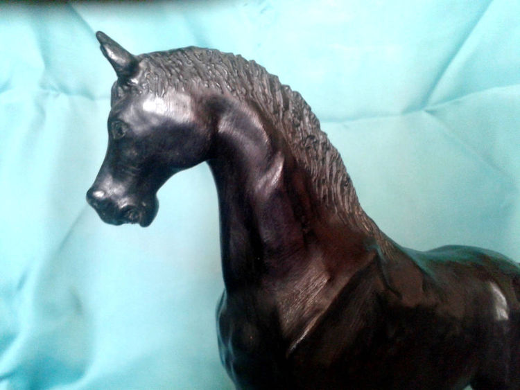 The Horse by Gela Mach - search and link Sculpture with SculptSite.com