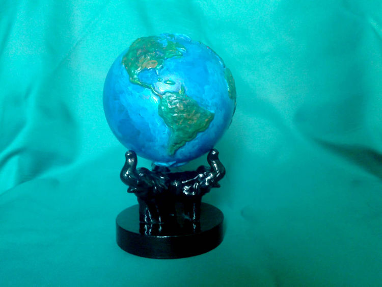 The Earth by Gela Mach - search and link Sculpture with SculptSite.com