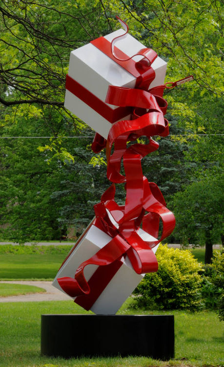 To: You  From: Me To: Me  From: You by Greg Londrigan - search and link Sculpture with SculptSite.com