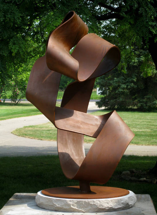Unfurl by Greg Londrigan - search and link Sculpture with SculptSite.com