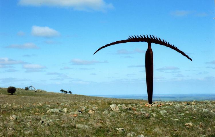 Horizon Figure by Greg Johns - search and link Sculpture with SculptSite.com
