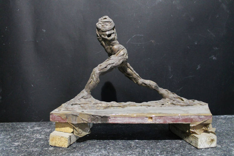 Anatomy of a runner by Bojan Grujic - search and link Sculpture with SculptSite.com