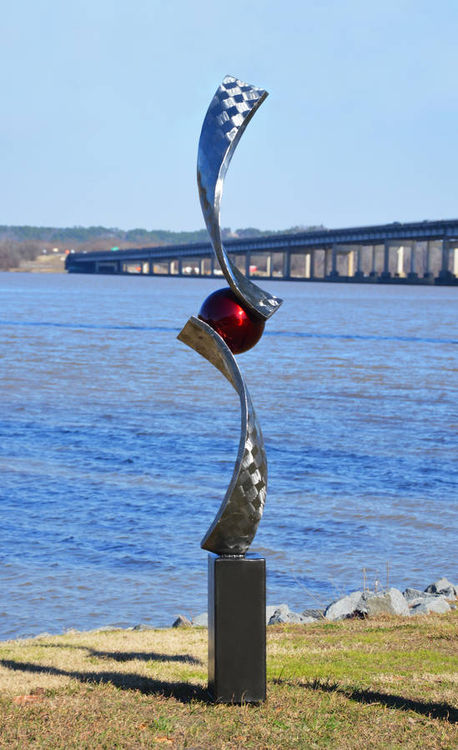 Verve II by Hunter Brown - search and link Sculpture with SculptSite.com