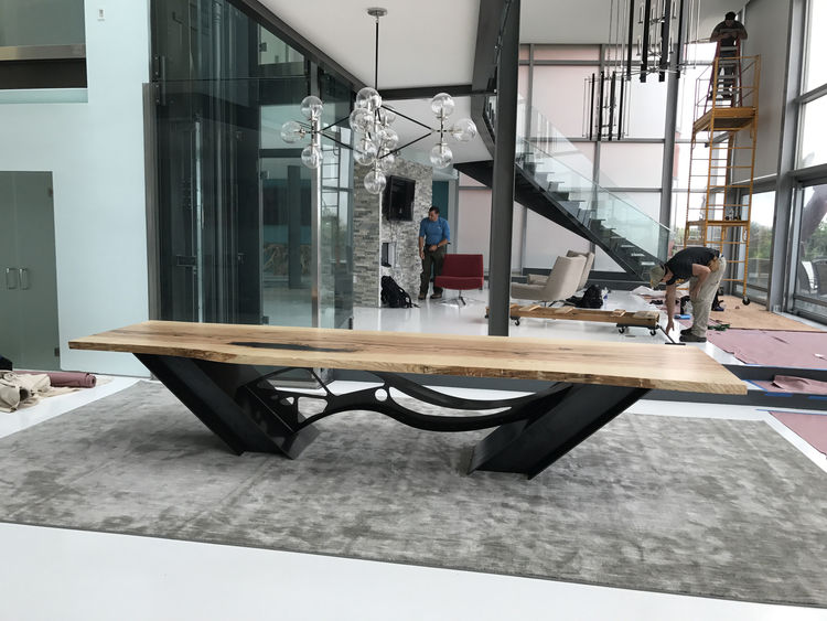 Wave Table by Hunter Brown - search and link Sculpture with SculptSite.com