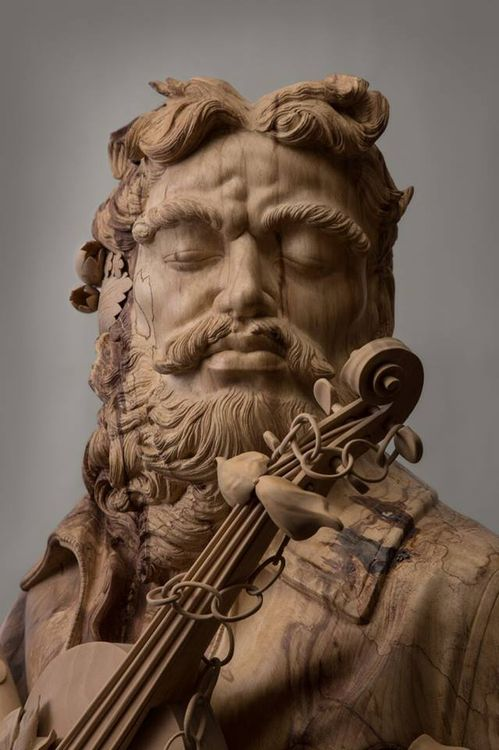 The Lord Of Music by James Mcloughlin - search and link Sculpture with SculptSite.com