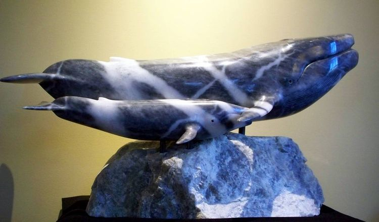 Wild Blue by Jason Nelson - search and link Sculpture with SculptSite.com