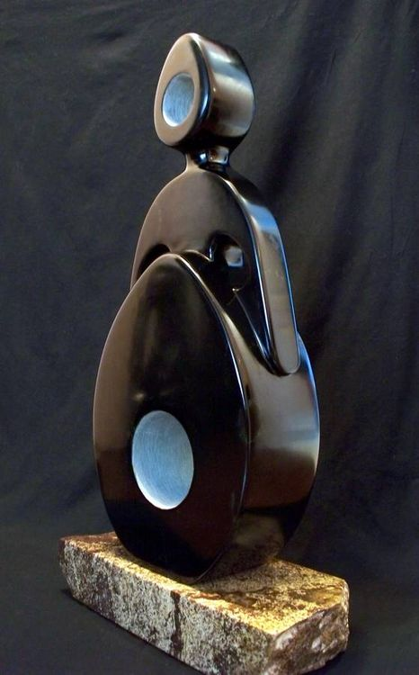 Egg Lady Number Two by Jason Nelson - search and link Sculpture with SculptSite.com
