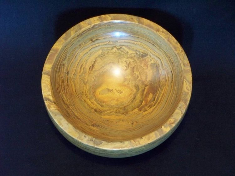 Eye of the Storm Bowl by Jason Nelson - search and link Sculpture with SculptSite.com