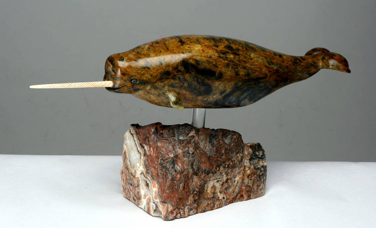Th Narwhal by Jason Nelson - search and link Sculpture with SculptSite.com