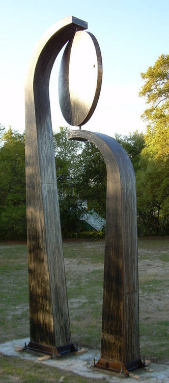Swagrass and Sun by Jeff Hackney - search and link Sculpture with SculptSite.com