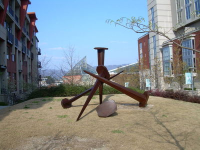 Need Bigger Hammer by Jeff Hackney - search and link Sculpture with SculptSite.com