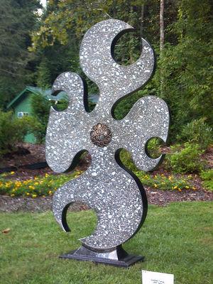 Cornus Florida by Jeff Hackney - search and link Sculpture with SculptSite.com