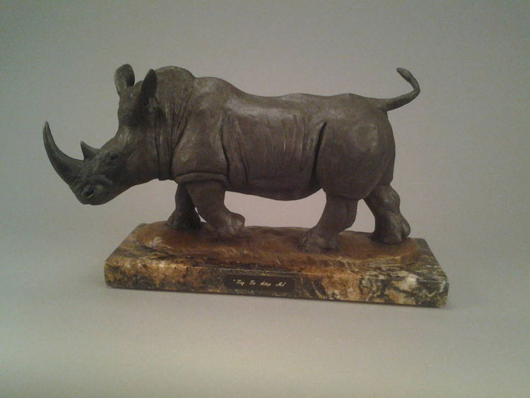 Try to stop me by James Marsico - search and link Sculpture with SculptSite.com