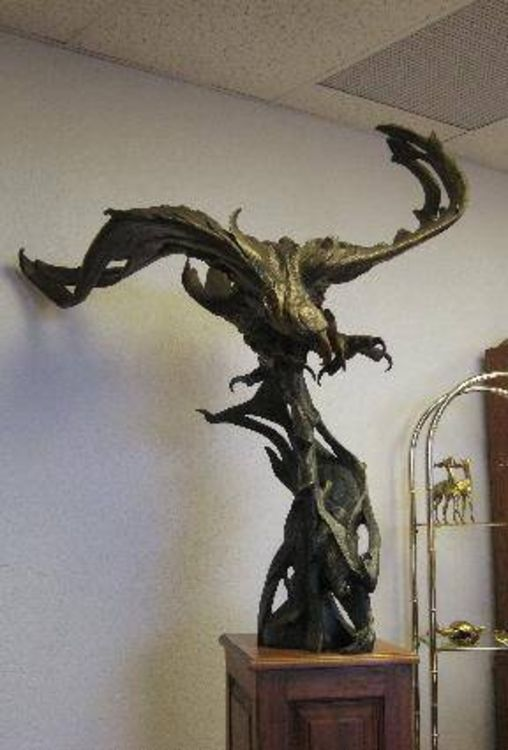 Dream Catch by James Marsico - search and link Sculpture with SculptSite.com