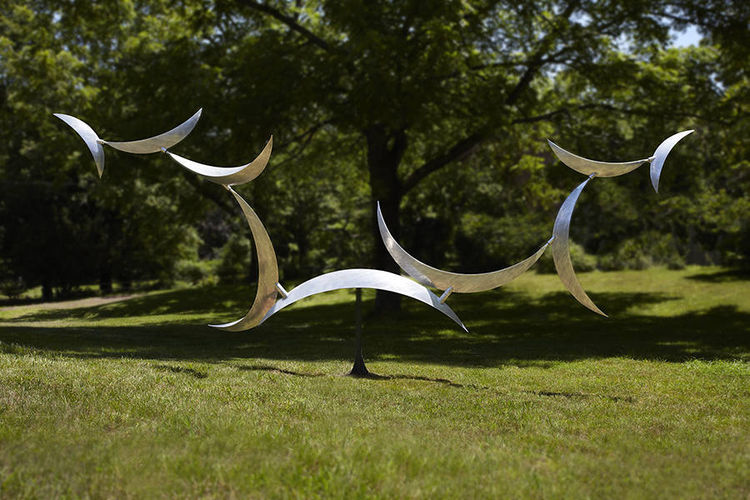 Nine Moons Rising by Jeff Kahn - search and link Sculpture with SculptSite.com