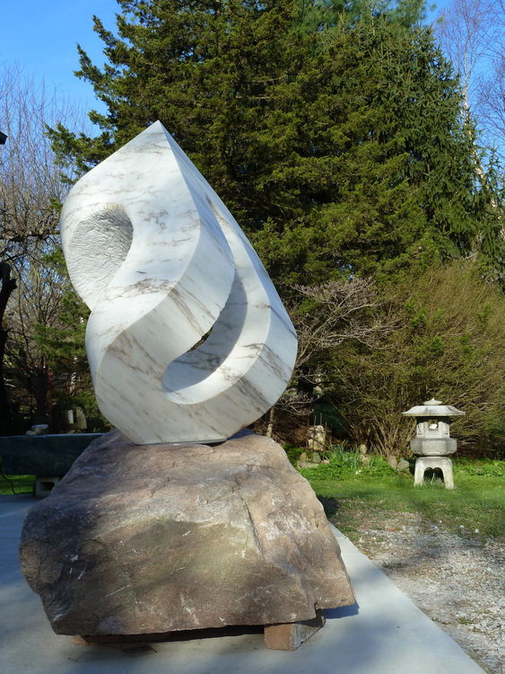 UNCARVED BLOCK VT : TAI CHI by Jon Barlow Hudson - search and link Sculpture with SculptSite.com