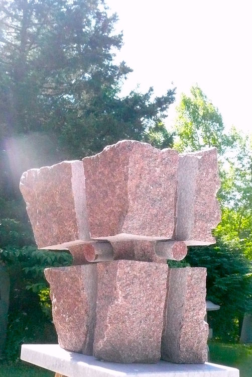 CONTINUUM UNCARVED BLOCK: XI by Jon Barlow Hudson - search and link Sculpture with SculptSite.com