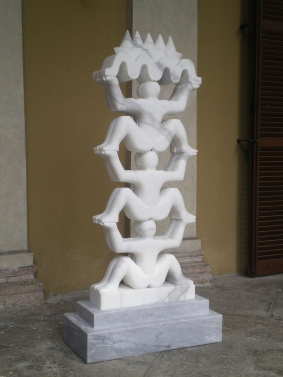 Six guardians by Jorge Romeo - search and link Sculpture with SculptSite.com