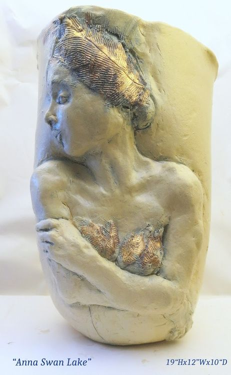 """""""Anna Swan Lake Ballerina"""" by Judith Unger - search and link Sculpture with SculptSite.com"""