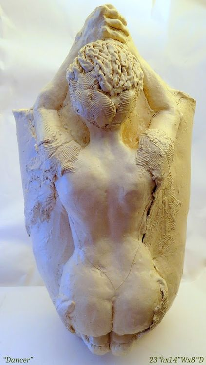 """""""Dancer"""" by Judith Unger - search and link Sculpture with SculptSite.com"""
