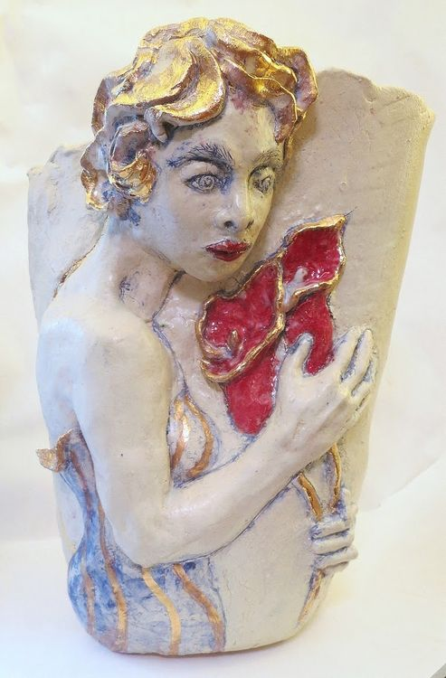 """Lily"" by Judith Unger - search and link Sculpture with SculptSite.com"