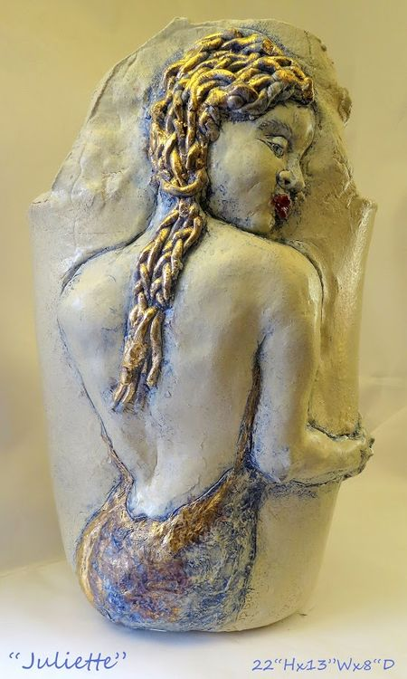 """""""Juliette"""" by Judith Unger - search and link Sculpture with SculptSite.com"""