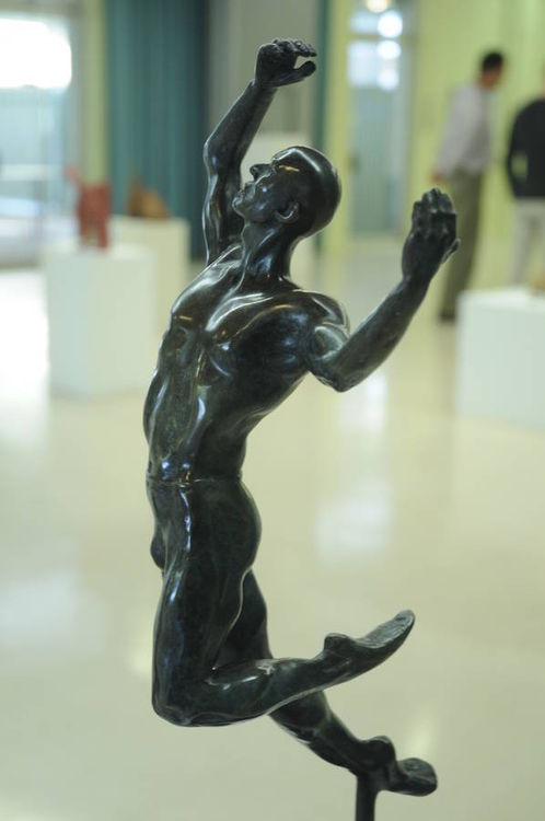 Nijinsky Dreaming  by KrisAnn Ehrich - search and link Sculpture with SculptSite.com