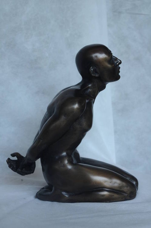 The Captive by KrisAnn Ehrich - search and link Sculpture with SculptSite.com