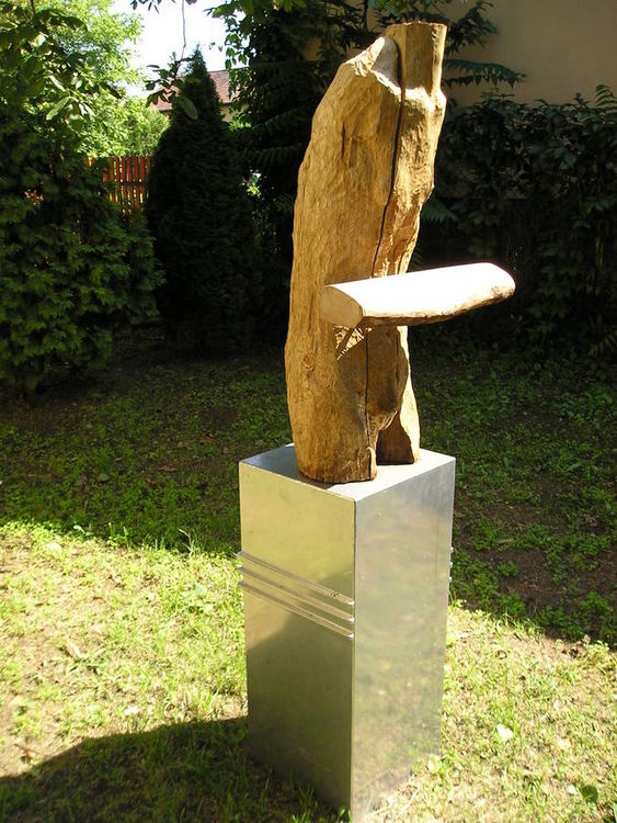 At The Beginning of Asquiescence by Eva Karcag - search and link Sculpture with SculptSite.com