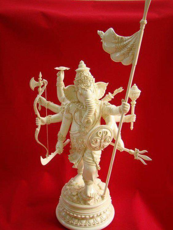 Ganesh warriors by Krich Rungsila - search and link Sculpture with SculptSite.com
