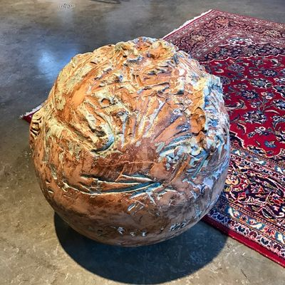 Coralsphere (indoor) by Carol Fleming - search and link Sculpture with SculptSite.com