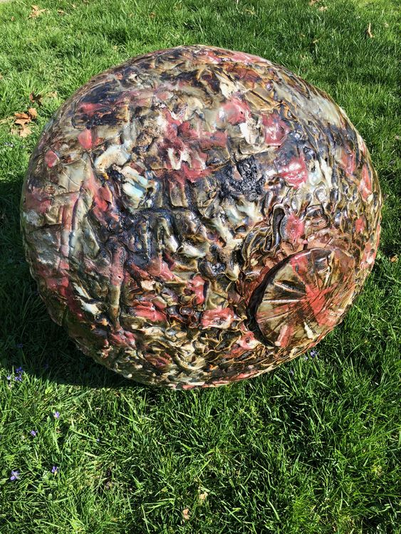 Coralsphere by Carol Fleming - search and link Sculpture with SculptSite.com