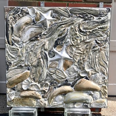 Tidal Pool by Carol Fleming - search and link Sculpture with SculptSite.com