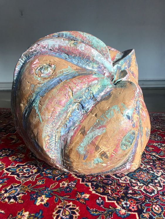 Spiral Sphere by Carol Fleming - search and link Sculpture with SculptSite.com