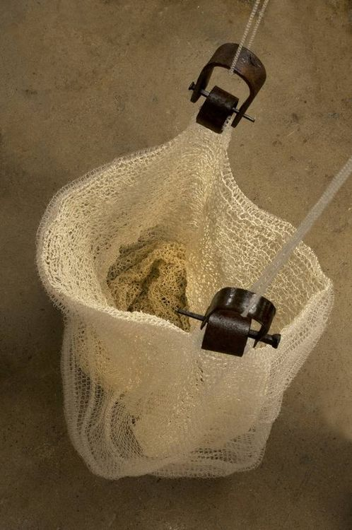 Draping (Basket) by Leslie Pontz - search and link Sculpture with SculptSite.com