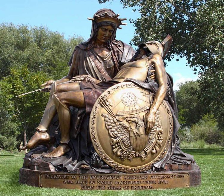 The American Pieta by James Muir - search and link Sculpture with SculptSite.com