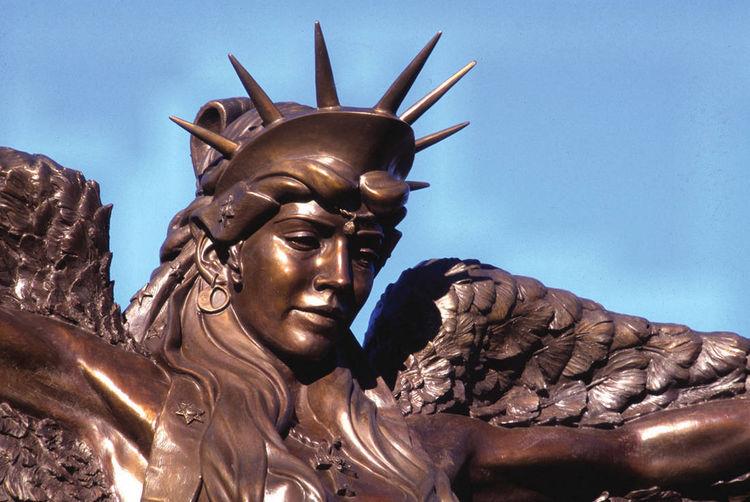 Caduceus by James Muir - search and link Sculpture with SculptSite.com