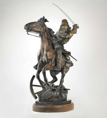 The Last Horseman by James Muir - search and link Sculpture with SculptSite.com