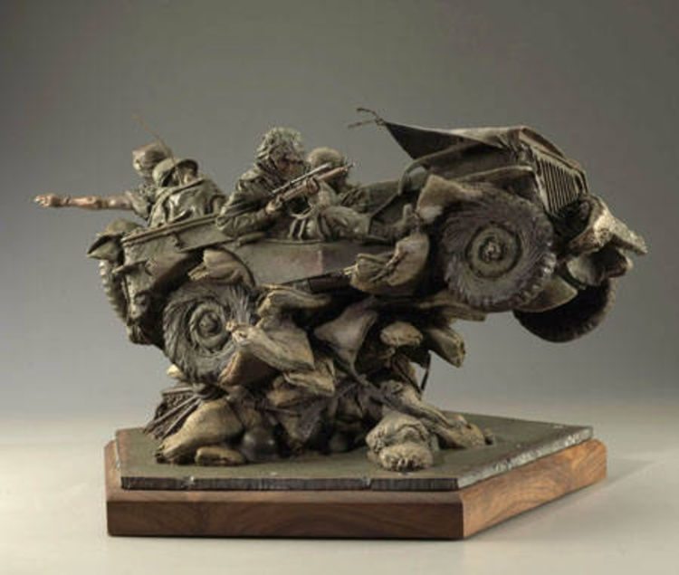 Band of Brothers by James Muir - search and link Sculpture with SculptSite.com