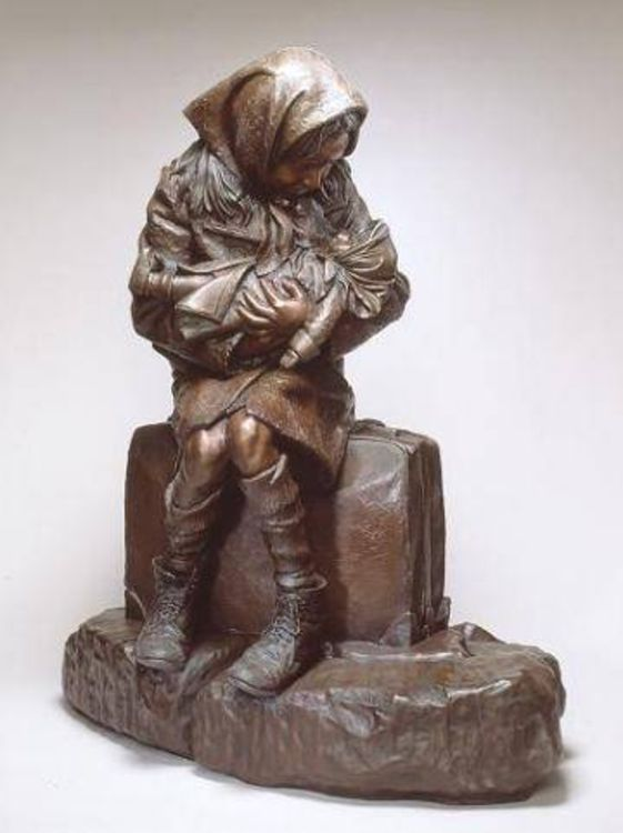 Children by James Muir - search and link Sculpture with SculptSite.com