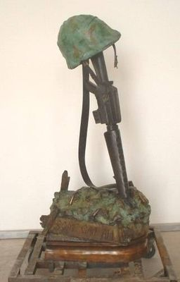 Some Gave All by James Muir - search and link Sculpture with SculptSite.com