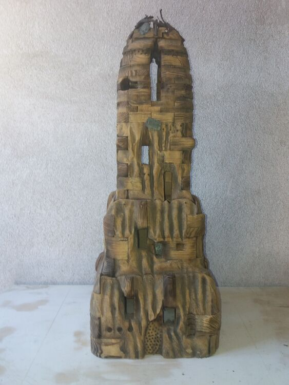 The Tample of the holy fields by Dimiter Malamski - search and link Sculpture with SculptSite.com