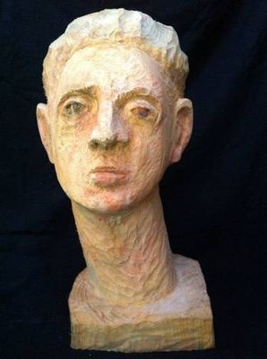 Head by Mark LaRiviere - search and link Sculpture with SculptSite.com