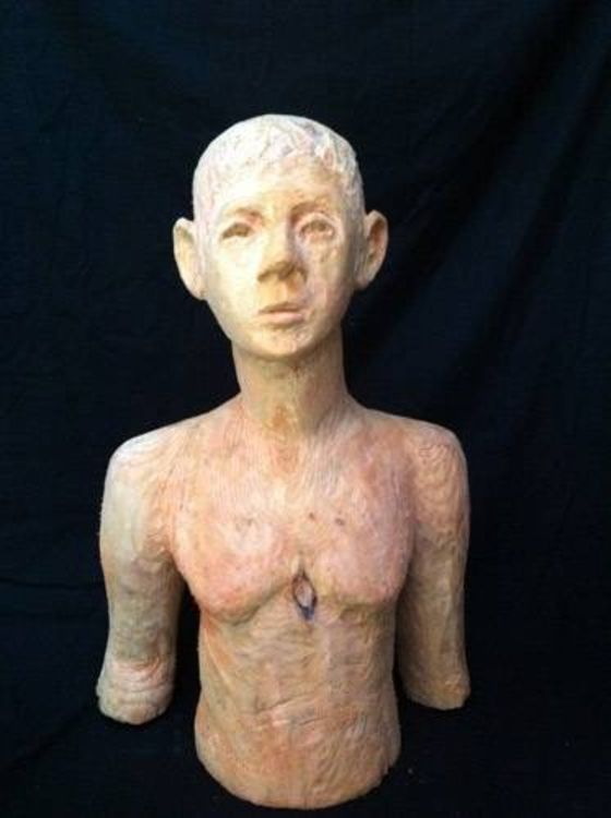 Torso of a Boy by Mark LaRiviere - search and link Sculpture with SculptSite.com