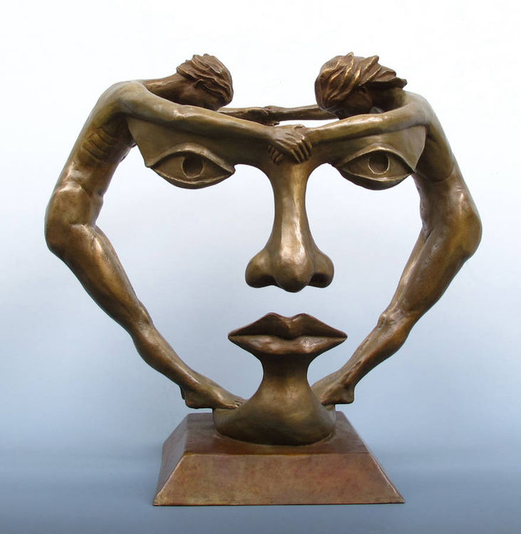 We Two Together by Michael Alfano - search and link Sculpture with SculptSite.com
