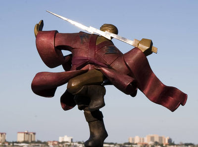 The Galactic Samurai by Nina Winters - search and link Sculpture with SculptSite.com