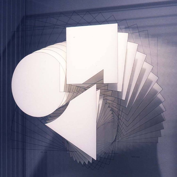 [(circle triangle square intersection) by Noa Attia - search and link Sculpture with SculptSite.com
